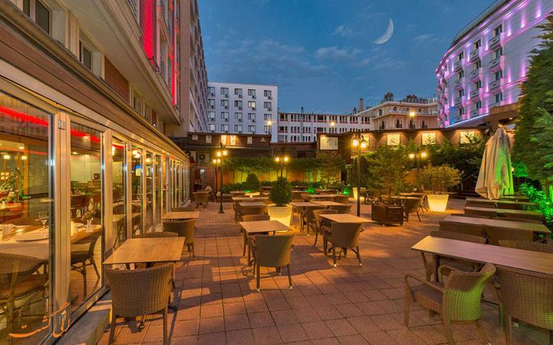 رستوران هتل ویسنزا استانبول
