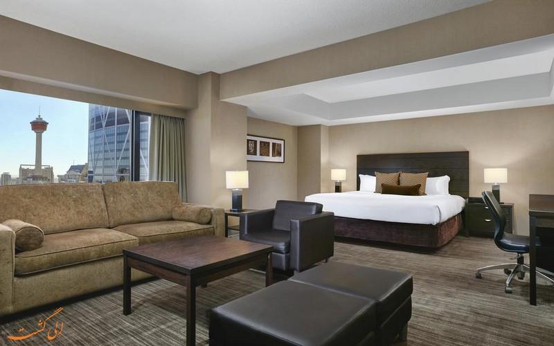 هتل 4 ستاره دلتا دونتون کلگری