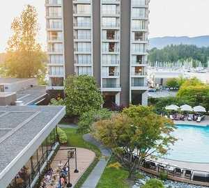 هتل وستین بای شور در ونکوور