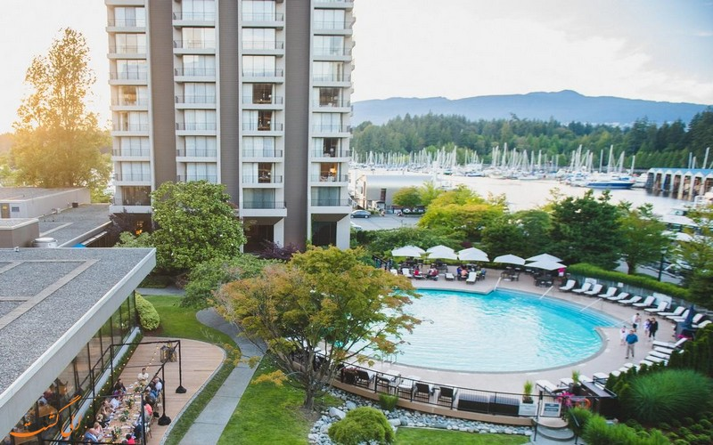 هتل 4 ستاره وستین بای شور در ونکوور