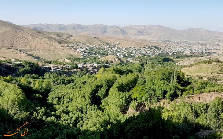 روستای قلات در فارس