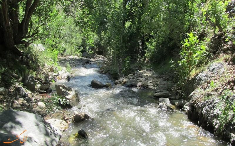 مسیر آبشار گرینه