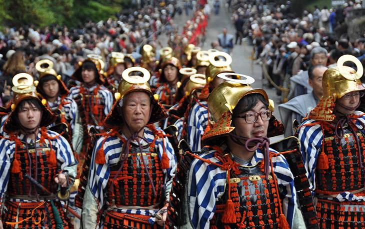 جشنواره بزرگ پاییز در ژاپن
