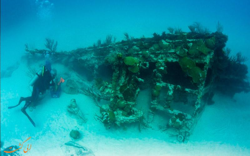 Bermuda-برمودا-بهترین دریاها برای غواصی