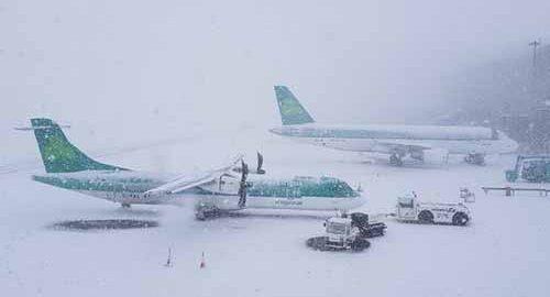 پرواز در آب و هوای بد