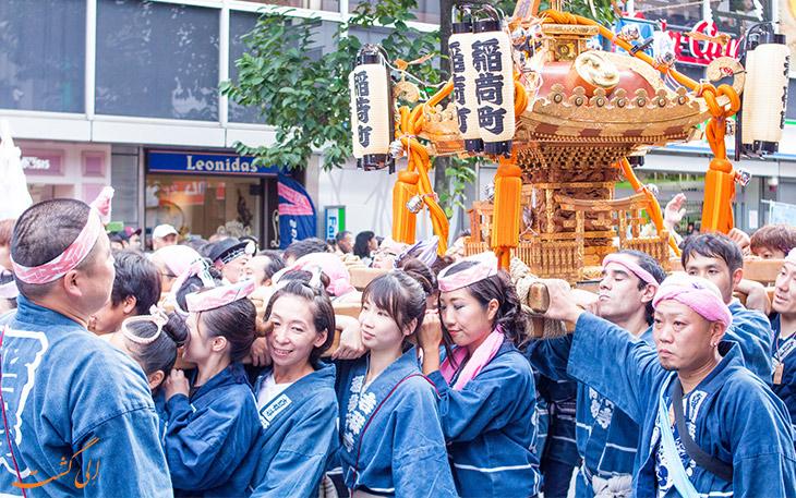 فستیوال پاییزی کیچی جوجی