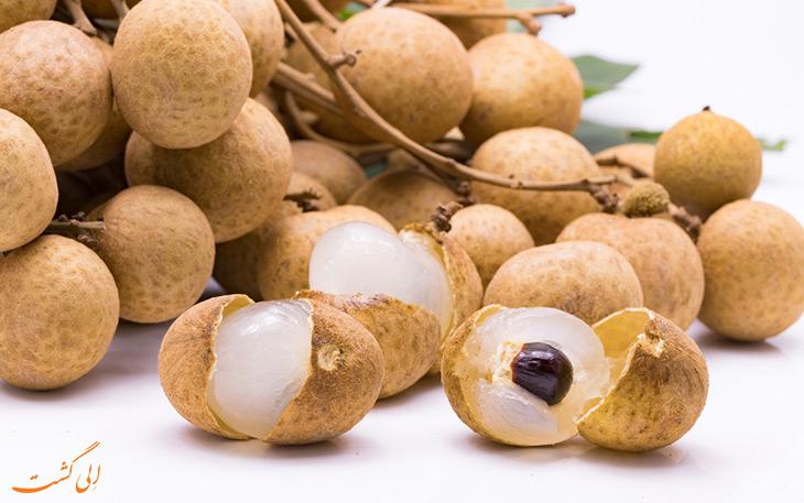 میوه های استوایی: لونگان