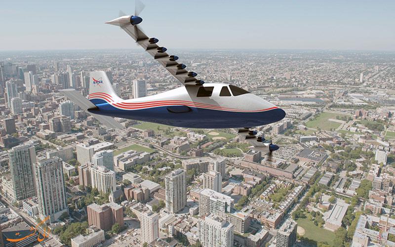 با هواپیمای X-57 ناسا، به زودی پروازهای متفاوتی را تجربه خواهید کرد!