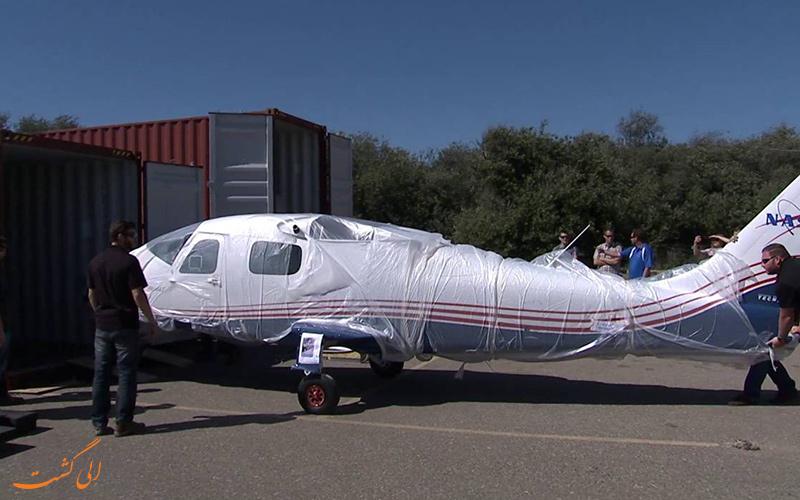 هواپیمای X-57 ناسا