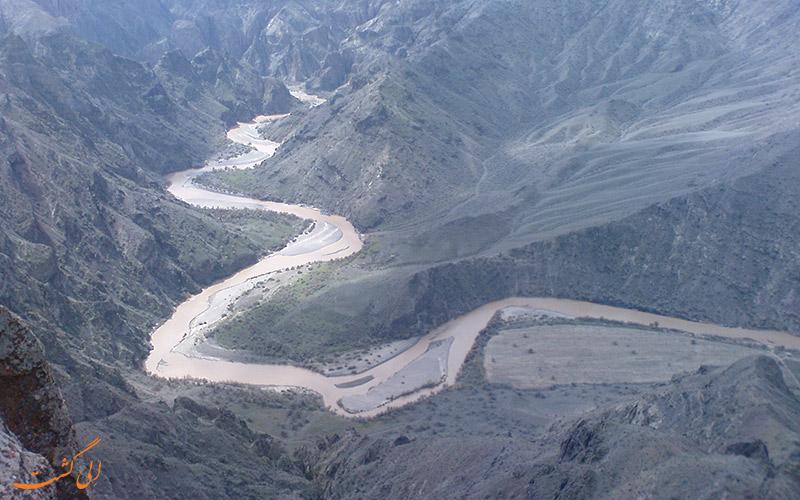 مسیر گذر رود