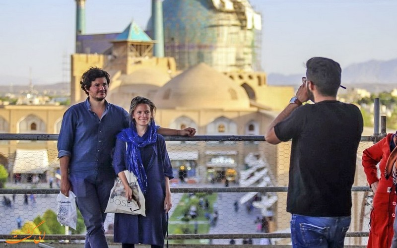 سفر یک زوج اروپایی به ایران