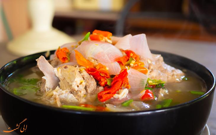 سوپ تام لائنگ تایلند