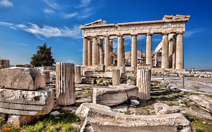 بازدید از جاذبه های یونان