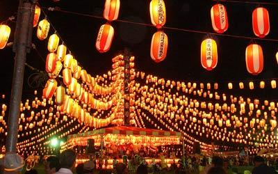 جشنواره های پاییزی ژاپن