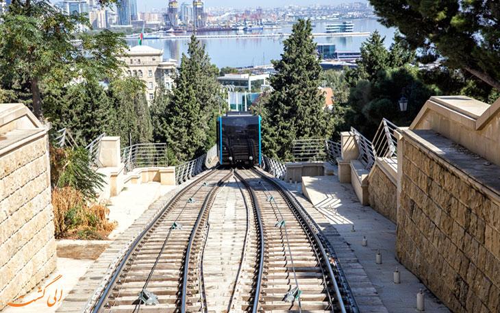 قطار کابلی باکو-بازدید از باکو