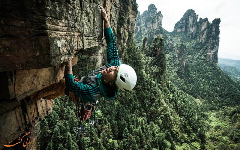 صخره نوردی در چین