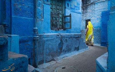 رنگارنگ ترین مکان ها در هند