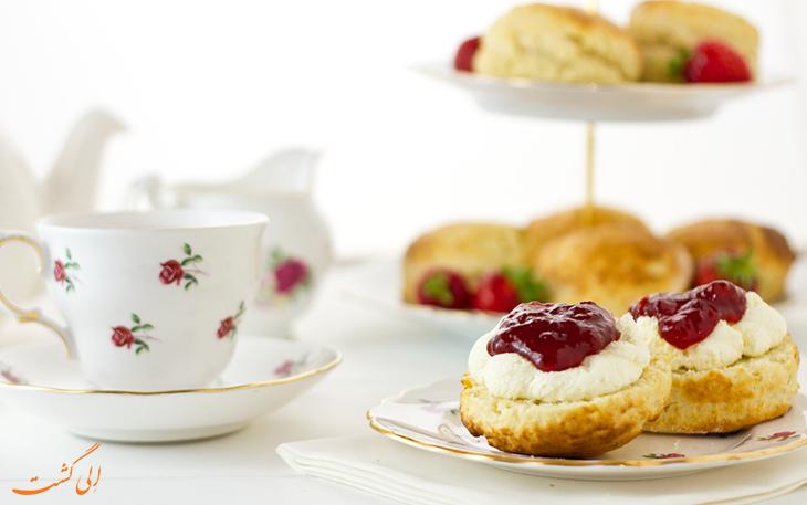 چای خامه انگلیسی