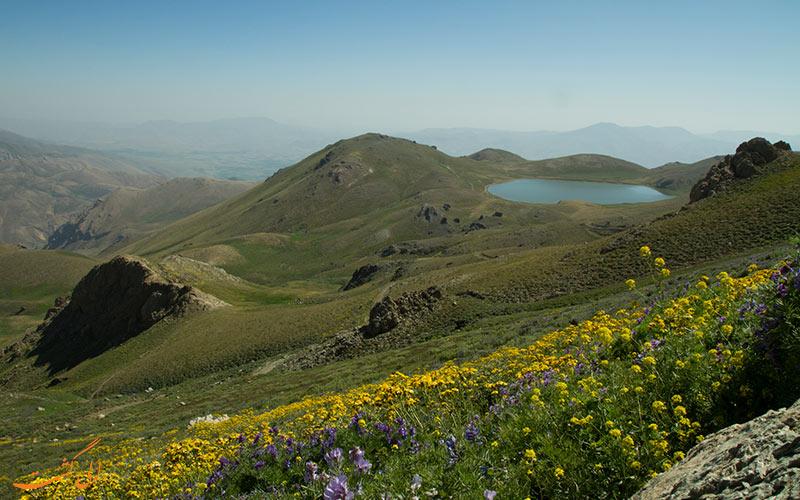 دریاچه دالامپر در ارومیه
