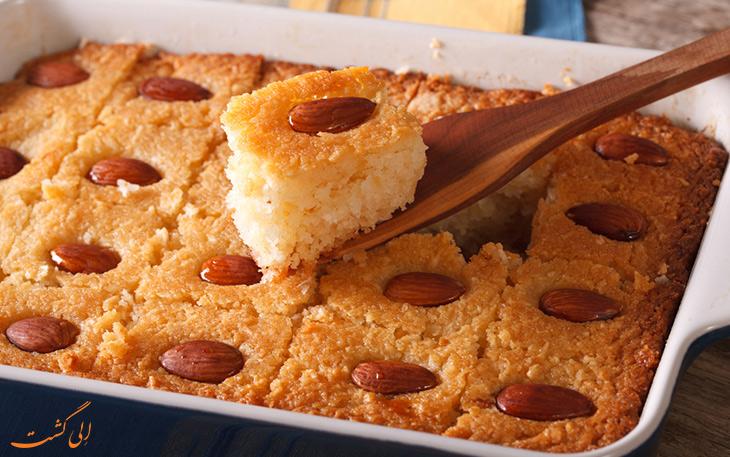کیک باسبوسا