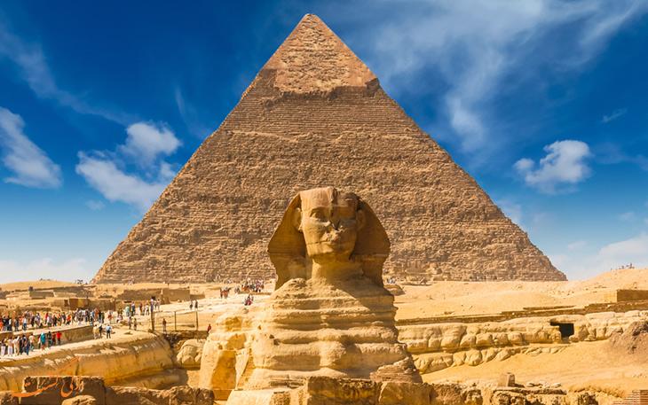 مجسمه ابولهول در مصر