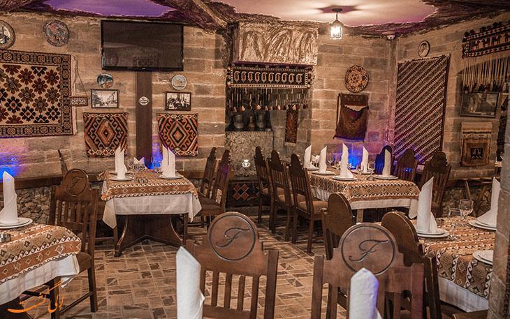 رستوران فیروزه باکو