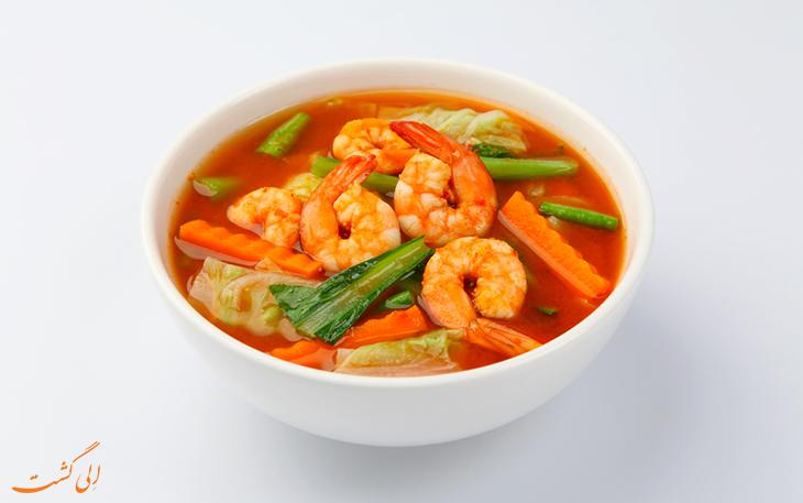 غذای گائنگ سام تایلند