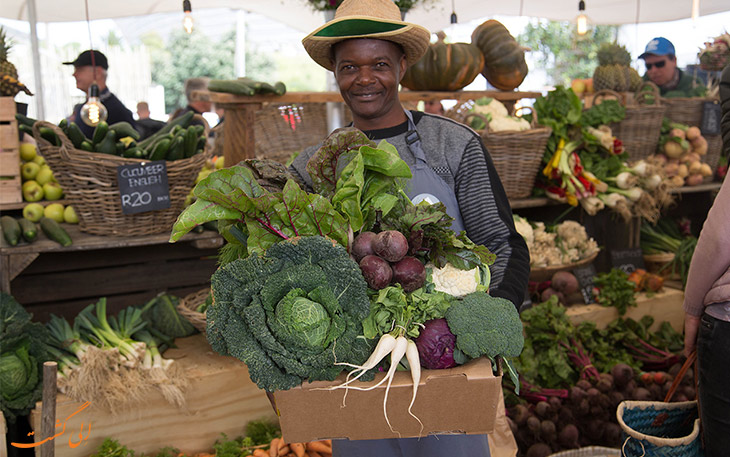 بازار محصولات کشاورزی کیپ تاون