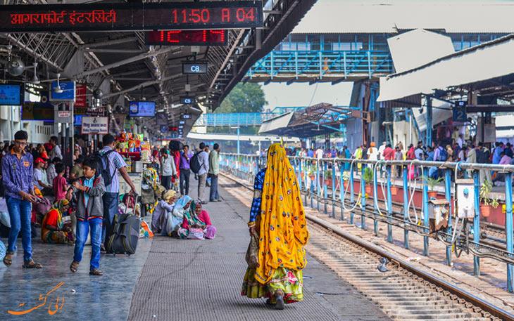 سیستم ریلی در هند