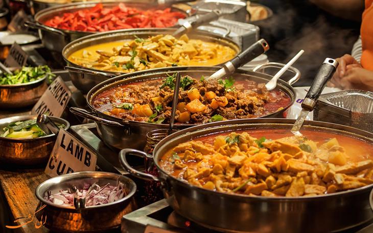 انواع غذای هندی