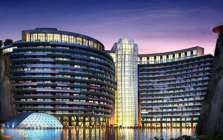 افتتاح هتل در شانگهای