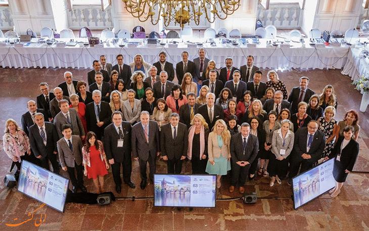 مراسم روز جهانی گردشگری در بوداپست