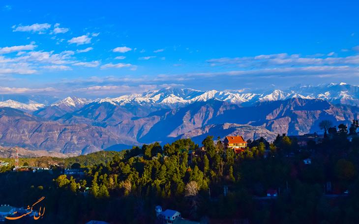 اقامت در منطقه خاجیار هند