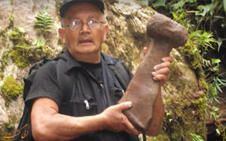 اشیاء کشف شده در شهر گمشده غول ها