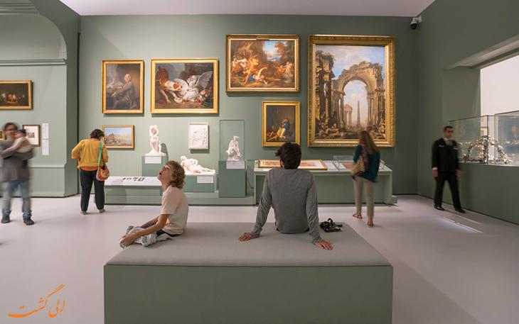بخش های مختلف موزه لوور