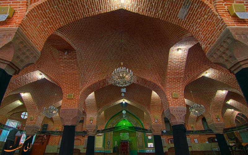 نمای داخلی مسجد
