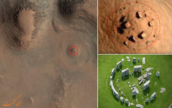 استون هنج در مریخ