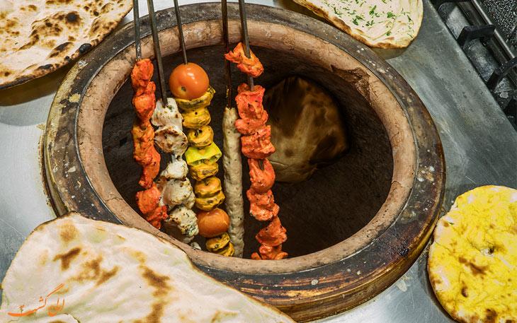 کباب تندور هند