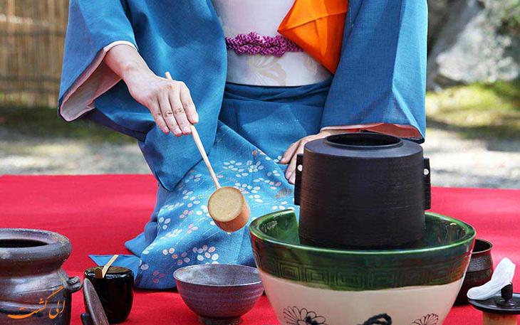 مراسم چای نوشی ژاپن