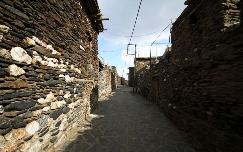 روستای ورکانه در استان همدان