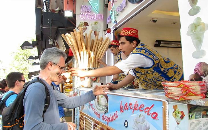بستنی سنتی استانبول