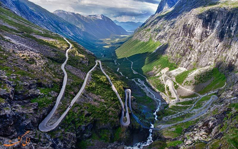 بهترین جاده ها برای دوچرخه سواری-نروژ