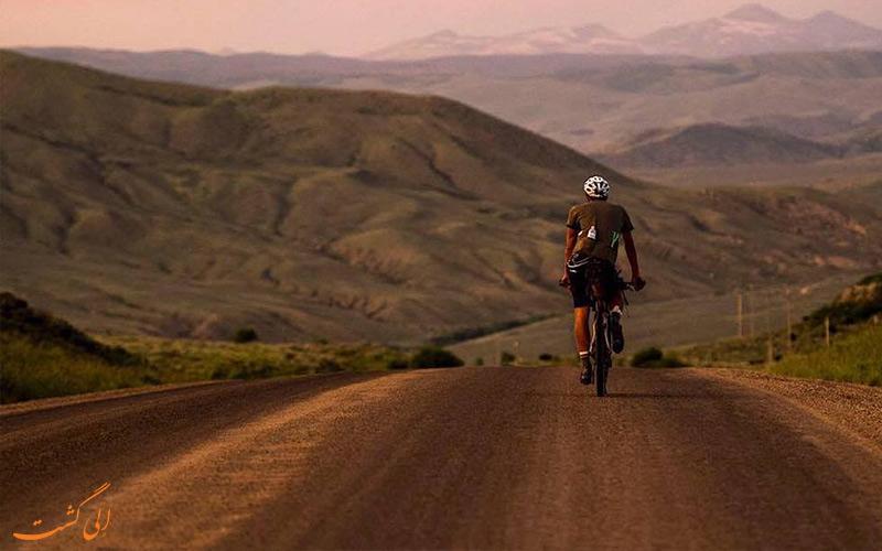 بهترین جاده ها برای دوچرخه سواران