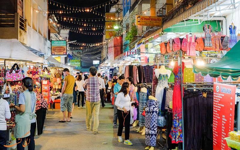 جاذبه های چیانگ رای-بازار محلی