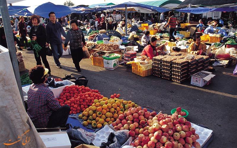 جشنواره چوسئوک کره جنوبی-انواع غذاها