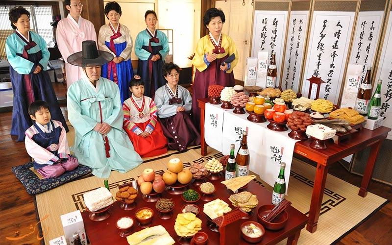 جشنواره چوسئوک کره جنوبی