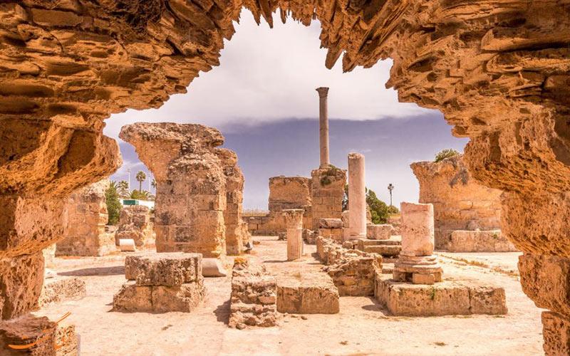 حمام های آنتونی کارتاژ تونس