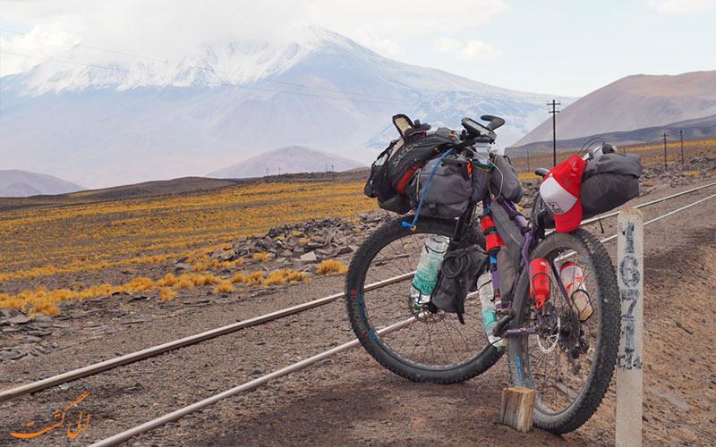نکات ایمنی در سفر با دوچرخه