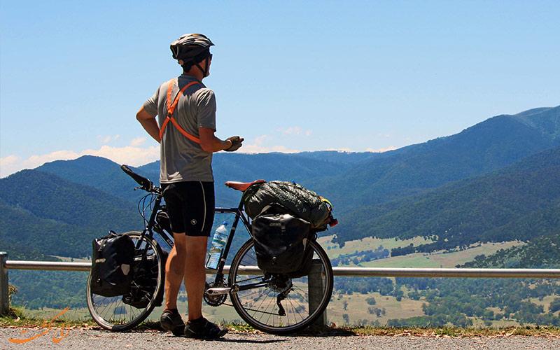 برنامه سفر با دوچرخه
