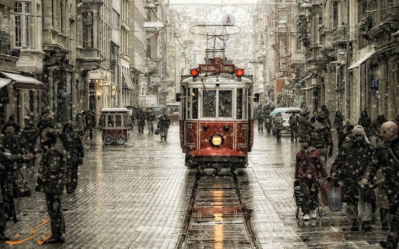 سفر 5 روزه به استانبول-خیابان استقلال